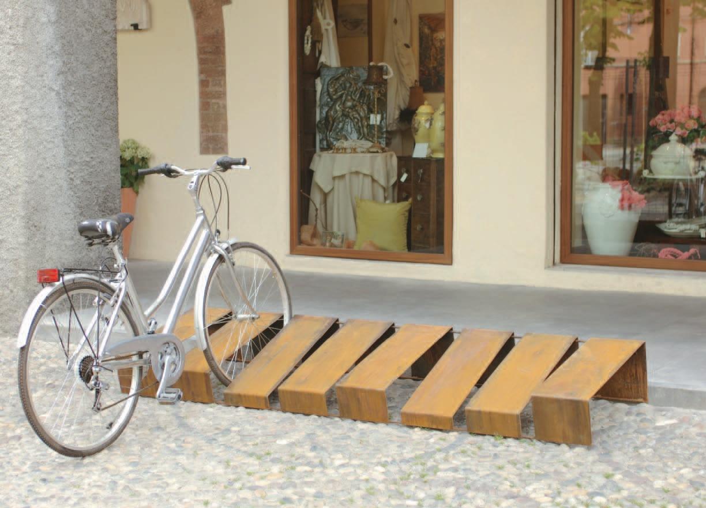 107h ivo fima arredo arredo urbano reggio emilia - Portabici in legno ...
